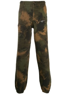 Off-White camouflage track trousers