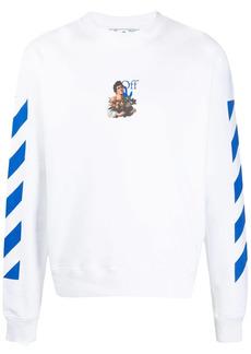 Off-White Caravaggio Boy Marker slim-fit sweatshirt