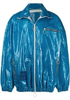 Off-White check zipped jacket