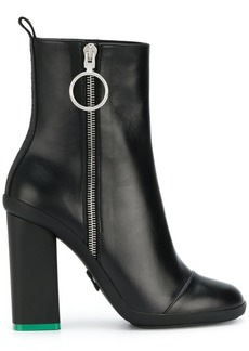 Off-White chunky boots