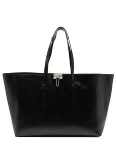 Off-White clip motif tote bag