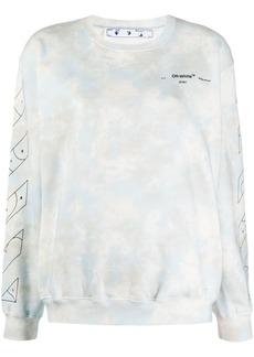 Off-White cloud print sweatshirt
