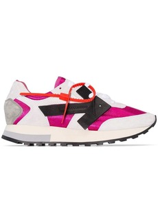 Off-White colour-block sneakers