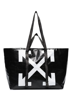 Off-White Commercial arrow logo tote