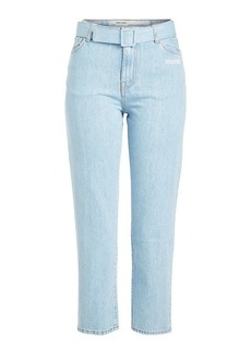Off-White Cropped Jeans