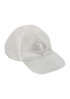 Off-White Crystal Net Baseball Hat