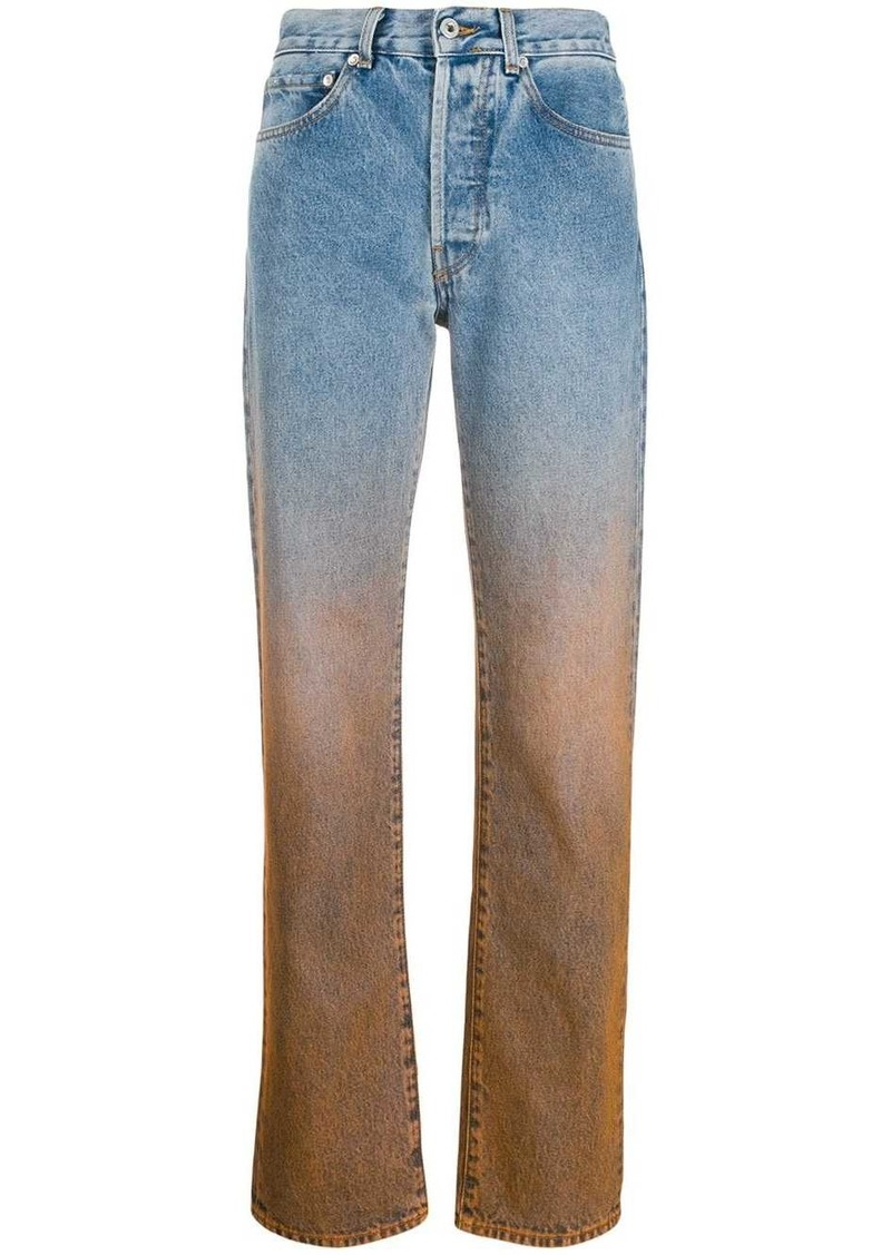 Off-White Degrade two-tone jeans