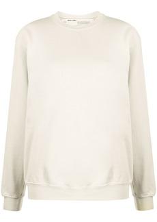 Off-White oversized diagonal stripes sweatshirt