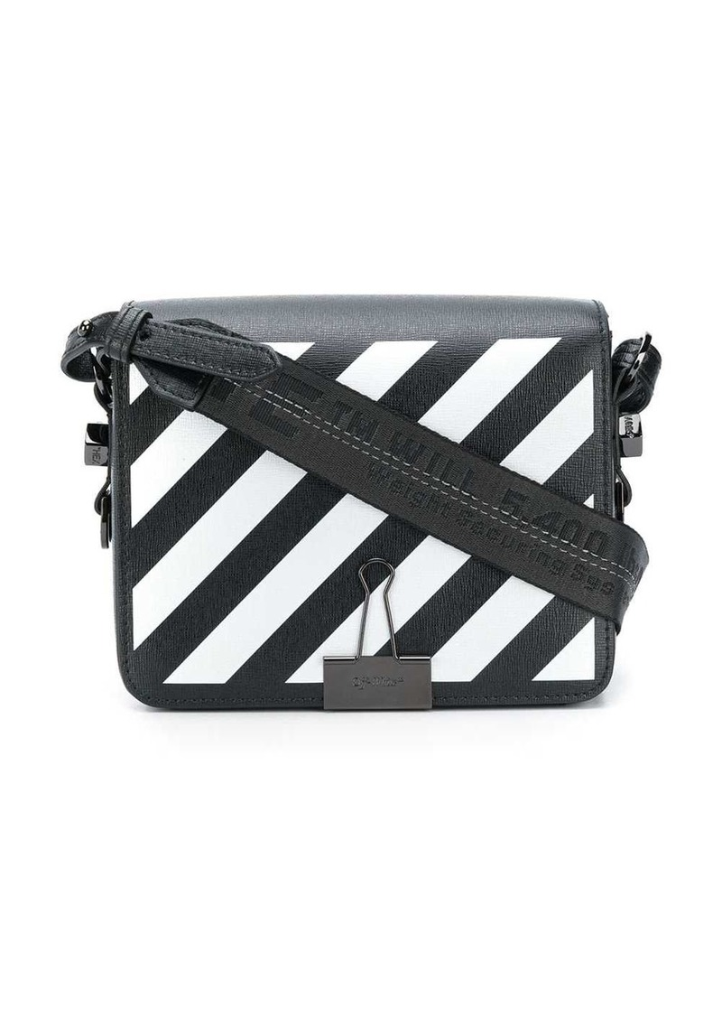 diagonal binder clip bag