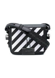 Off-White diagonal strip mini bag