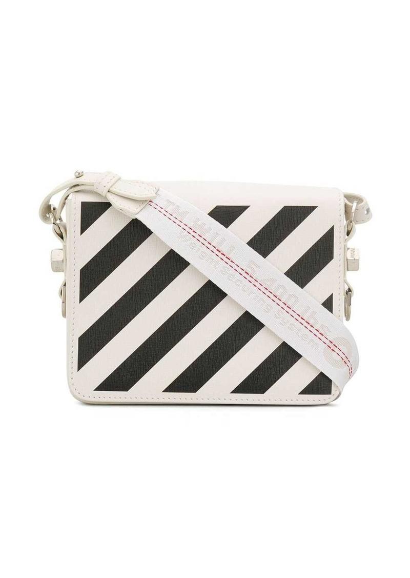 Off-White diagonal stripe Binder bag