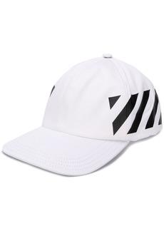 Off-White diagonal stripe cap