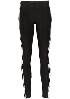 Off-White diagonal stripe print leggings