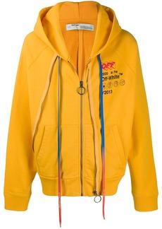 Off-White double zip hoodie