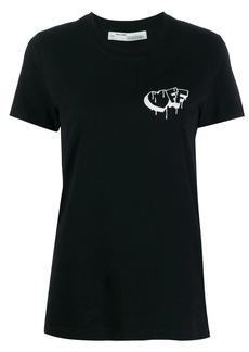 Off-White dripping logo T-shirt