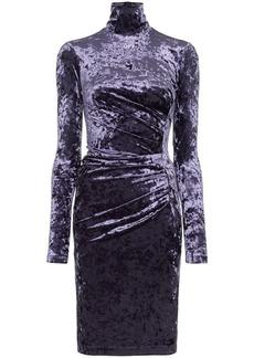 Off-White fitted velvet dress