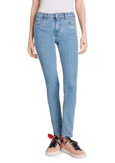 Off-White Five-Pocket Skinny Jeans