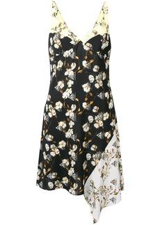 Off-White floral asymmetric dress