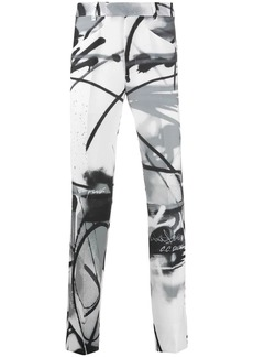 Off-White Futura Spray tailored trousers