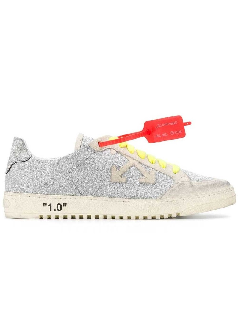 Off-White glitter finish low 2.0 sneakers
