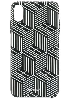 Off-White graphic logo print iPhone XS MAX case