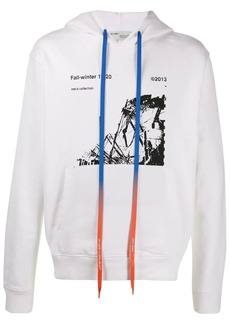 Off-White graphic print hoodie
