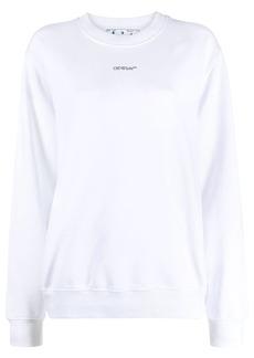 Off-White graphic print sweatshirt