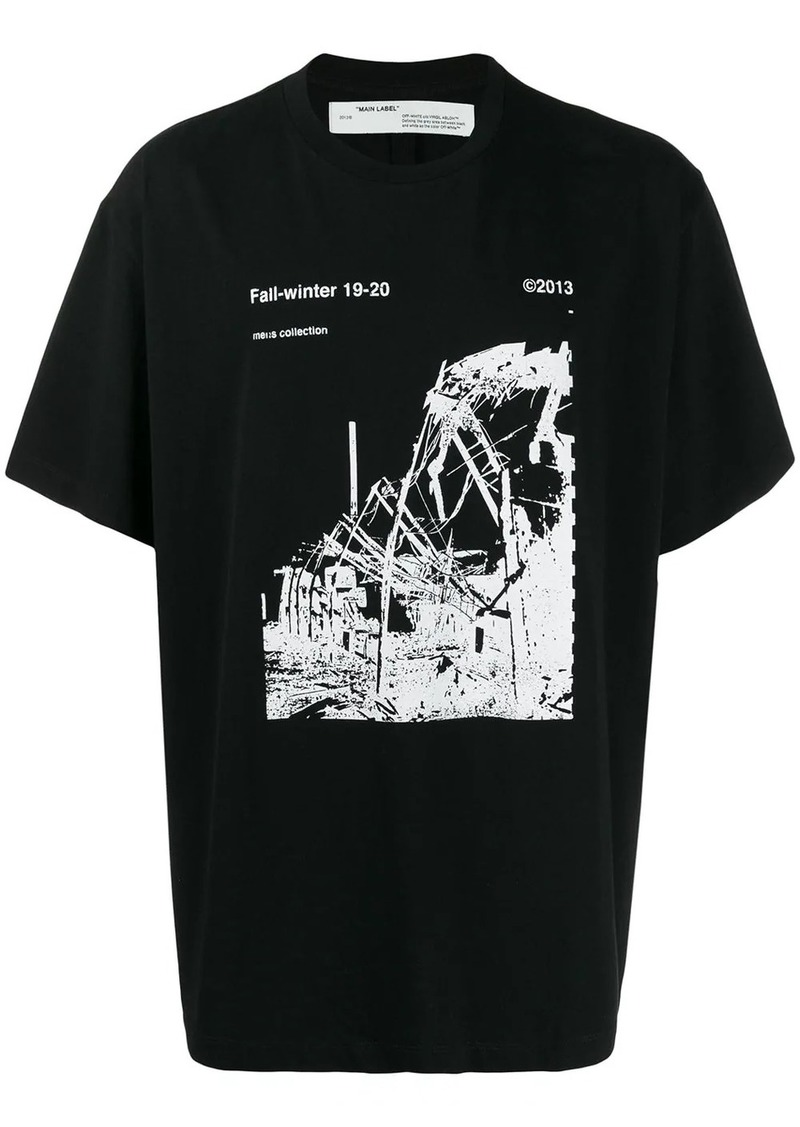 Off-White Ruined Factory print T-shirt