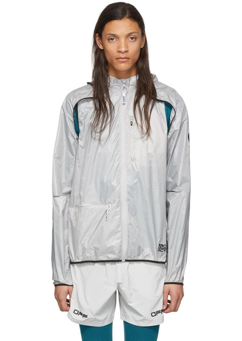Off-White Grey Multi Use Jacket