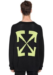 Off-White Harry The Bunny Cotton Blend Sweater