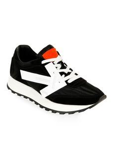 Off-White HG Runner Low-Top Suede Sneakers  Black