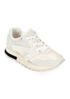 Off-White HG Runner Low-Top Suede Sneakers  White