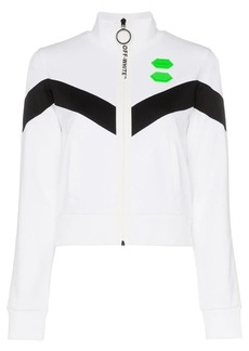 Off-White high neck logo track jacket