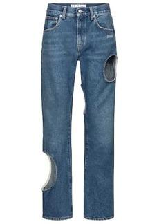 Off-White High-rise boyfriend jeans