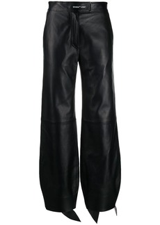 Off-White high-waist balloon-leg trousers