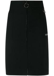 Off-White high-waist pencil skirt