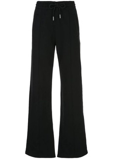 Off-White high waisted diagonal stripe track pants