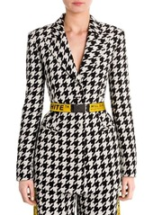 Off-White Houndstooth Jacket