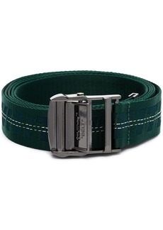 Off-White industrial jacquard belt