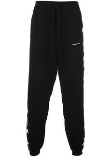 Off-White intarsia detail track pants