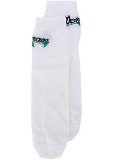 Off-White intarsia-knit socks