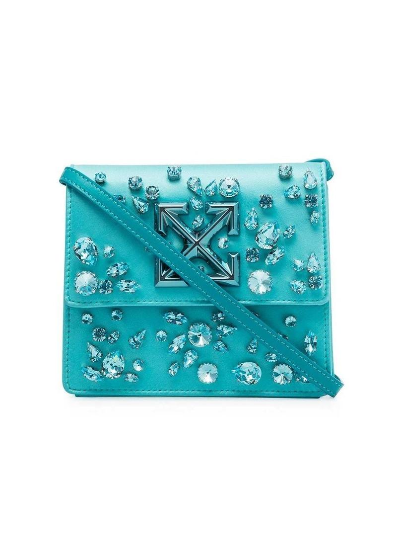Jitney 0.7 crystal-embellished belt bag