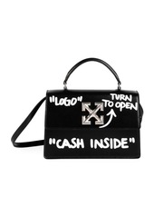 Off-White Jitney 1.0 Cash Inside Leather Crossbody Bag