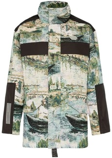 5f82c8eb630fc Off-White Reconstructed Cotton Camo Field Jacket Now $489.00