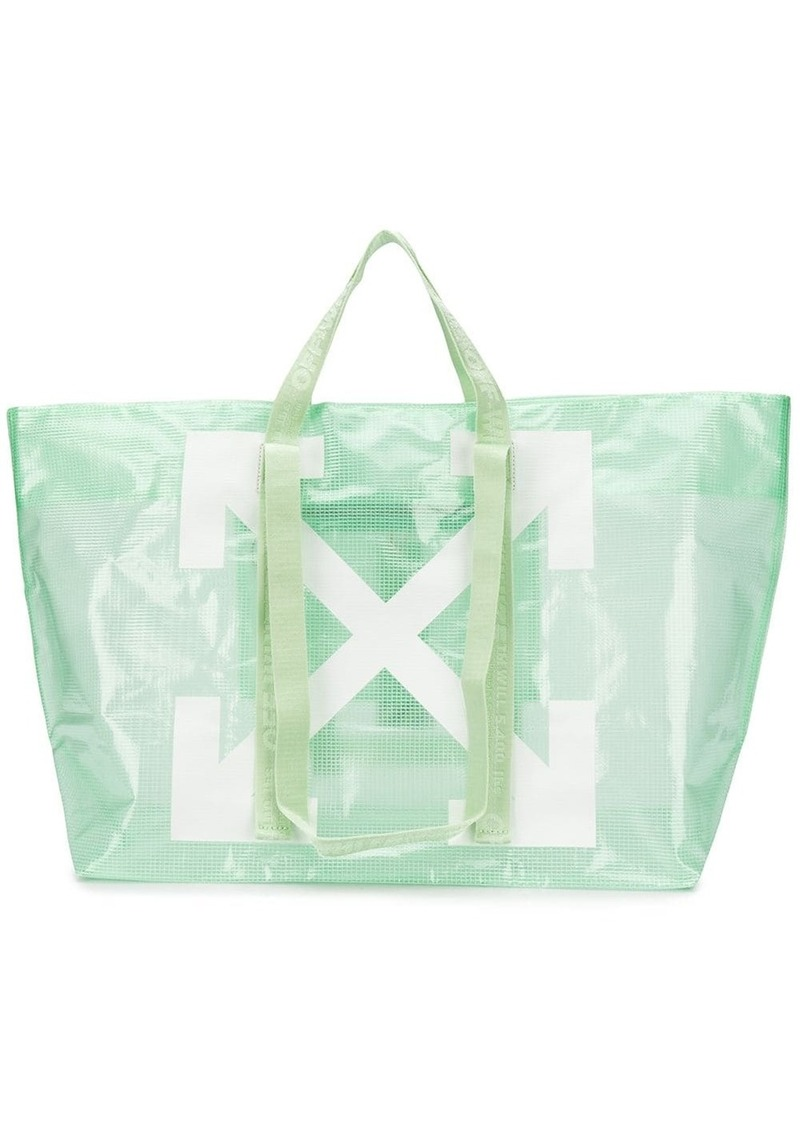 Off-White large arrows tote