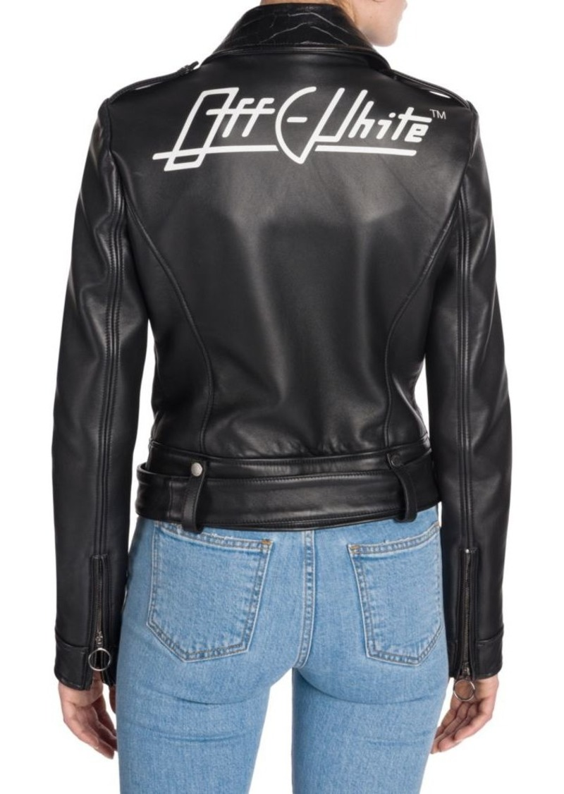 3f8651a20 Leather Biker Jacket
