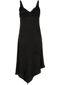 Off-White logo asymmetric dress