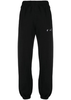 Off-White logo-embroidered track pants