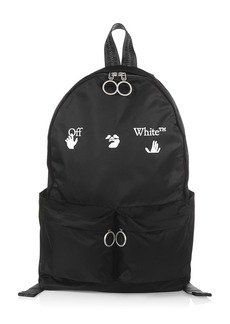 Off-White Logo Graphic Print Backpack