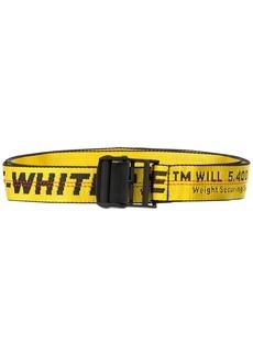 Off-White logo industrial belt